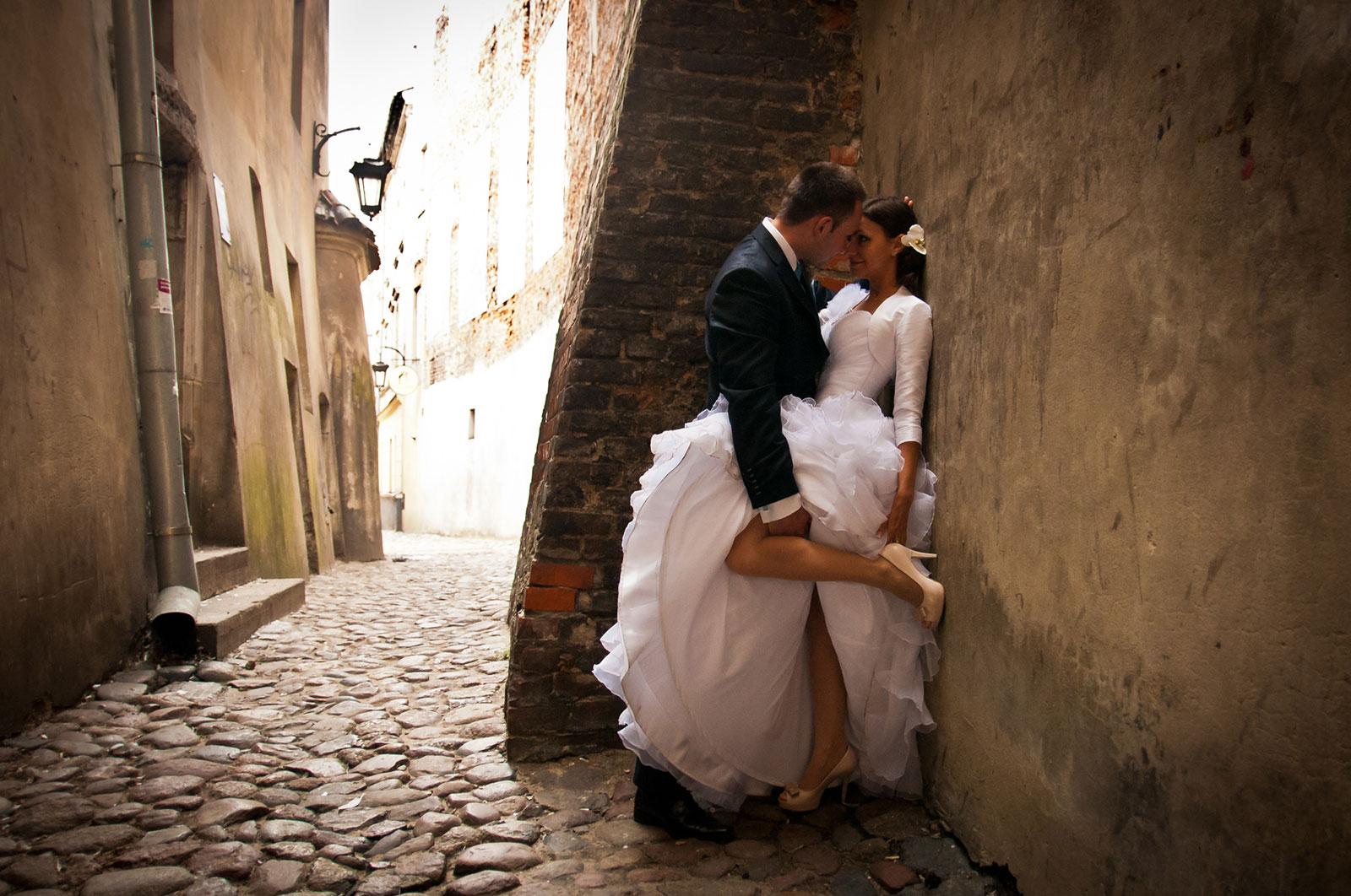 Zapowiedź reportażu z dnia ślubu Magdy i Michała